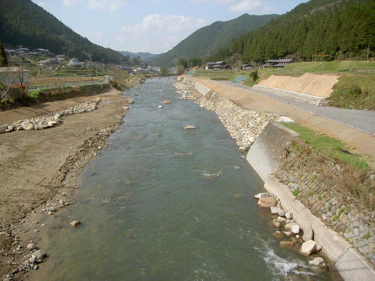 一級河川名張川右岸 平成23年国災第187号 河川災害復旧工事