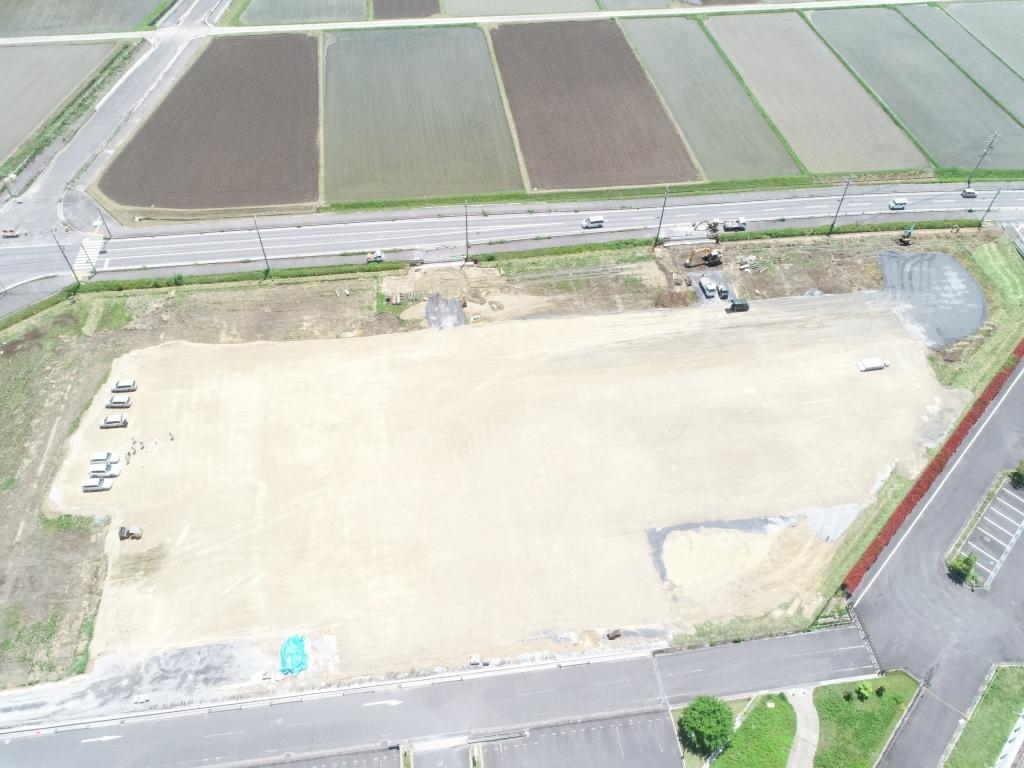 某大型スーパー建設予定地造成工事